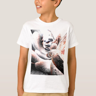Fire Water Abstract T-Shirt