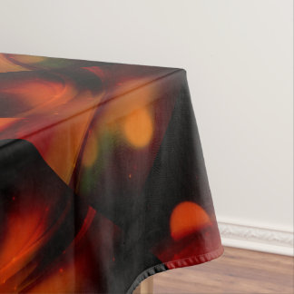 Fire Wave Tablecloth