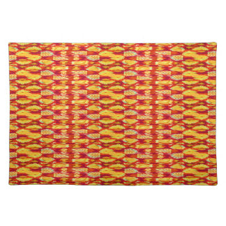 Fire Weave Tropical Summer Placemat