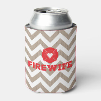 Fire Wife Wood Chevron