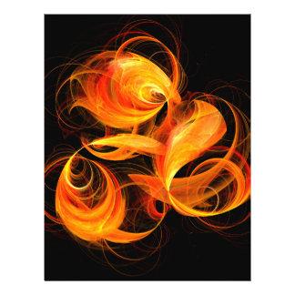 Fireball Abstract Art Flyer