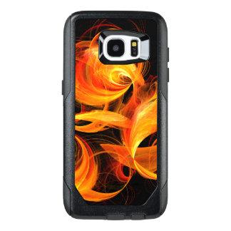 Fireball Abstract Art OtterBox Samsung Galaxy S7 Edge Case