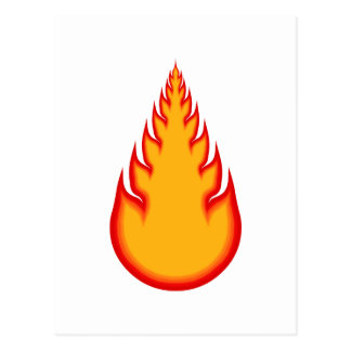 Fireball Graphics: Fire Ball: Flames Postcard
