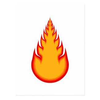Fireball Graphics: Fire Ball: Flames Postcard