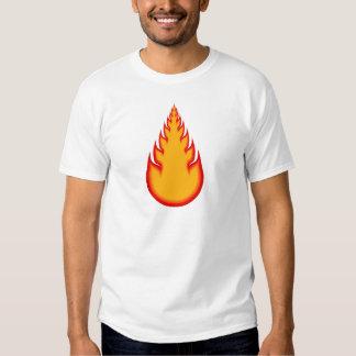 Fireball Graphics: Fire Ball: Flames T Shirt