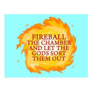 Fireball the Chamber Postcard