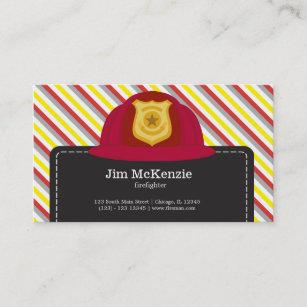 Firefighting business cards zazzle nz firefighter business card colourmoves