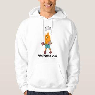 firefighter dad hoodie