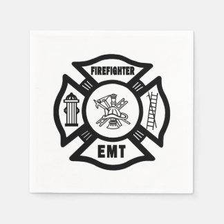 Firefighter EMT Disposable Napkins