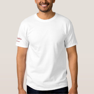 Firefighter Forever-T-Shirt-Embroidered Embroidered T-Shirt