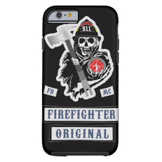 Firefighter Motorcycle Club Tough iPhone 6 Case