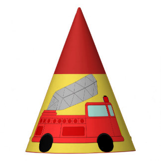 Firefighter Party Hat