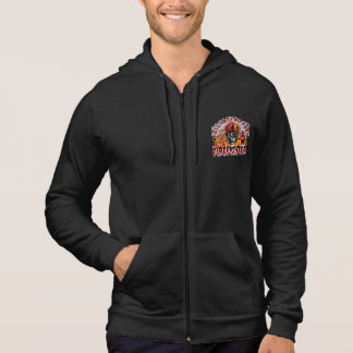 Firefighter Skull 5 with Axe Hoodie