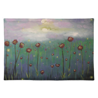 Fireflies in Roses Placemat