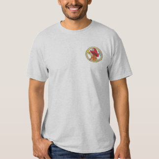 Fireman Logo Embroidered T-Shirt