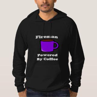 """Fireman"" Powered by Coffee Hoodie"