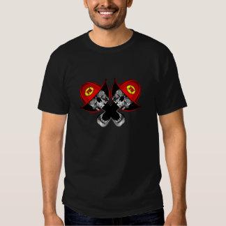Fireman Skulls Tshirt