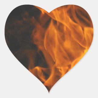 Firemen Flames Fire Peace Office Art Love Destiny Sticker