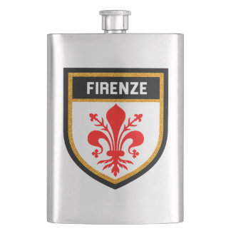 Firenze Flag Hip Flask