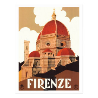 Firenze Poster Post Card