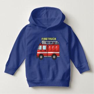 FireTruck Hoddie For Todlers Hoodie