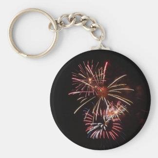 Fireworks 3 Keychain