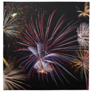 Fireworks Finale Cloth Napkins