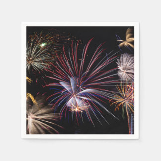 Fireworks Finale Napkins Paper Napkin