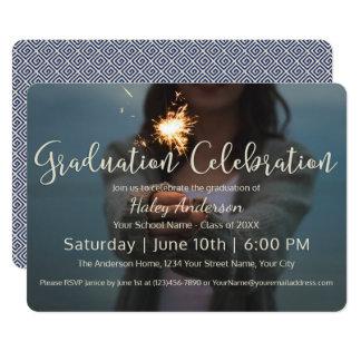 Fireworks Graduation Celebration Card
