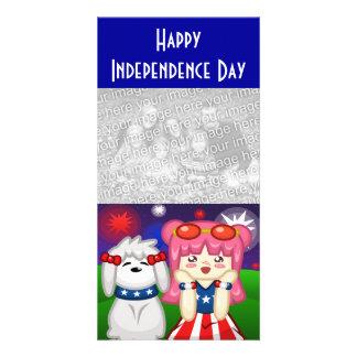 Fireworks Photo Card