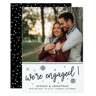 Fireworks | Photo Engagement Announcement