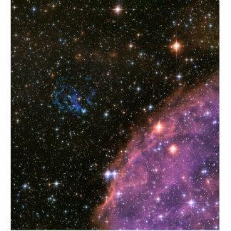 Fireworks Small Magellanic Cloud Standing Photo Sculpture