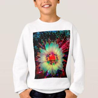 Fireworks sunflower sweatshirt