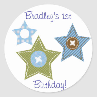 First Birthday Sticker