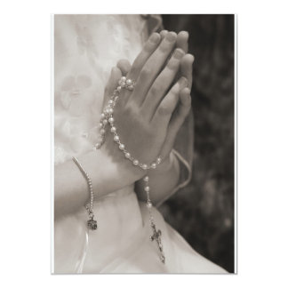 First Communion 13 Cm X 18 Cm Invitation Card
