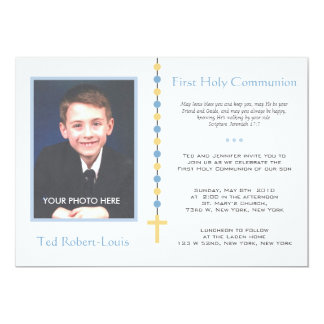 First Communion - Boy Card