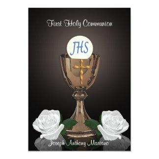 First communion invitation
