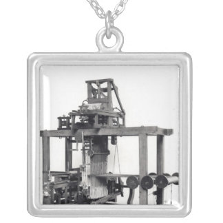 First fully automated loom silver plated necklace