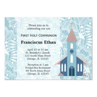 First Holy Communion 13 Cm X 18 Cm Invitation Card