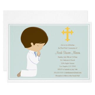 First Holy Communion - Blue | Invitation