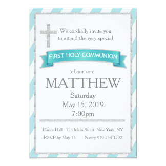 First Holy Communion Card