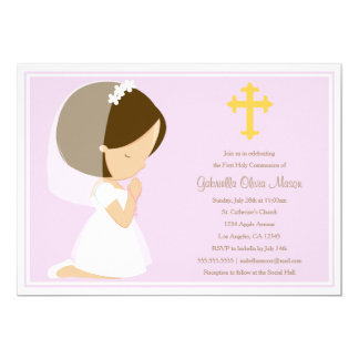 First Holy Communion - Lavender | Invitation