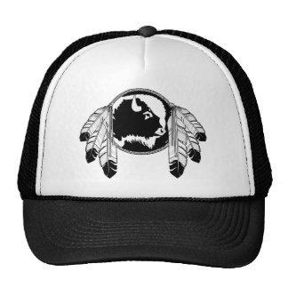 First Nation Wildlife Cap Buffalo Wildlife Art Cap