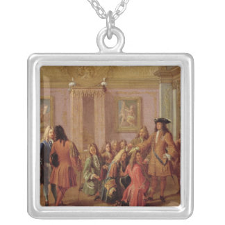 First Promotion of the Order of Saint Louis Silver Plated Necklace