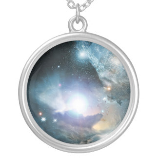 First Stars Silver Plated Necklace