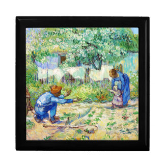 First Steps (after Millet) Vincent van Gogh art Gift Box