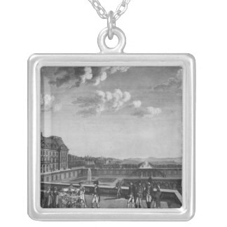 First steps of King of Rome Silver Plated Necklace