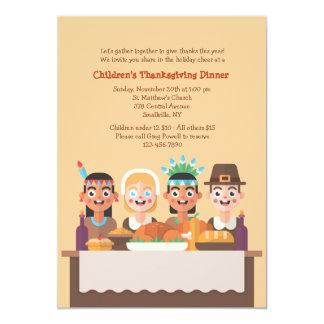 First Thanksgiving Invitation