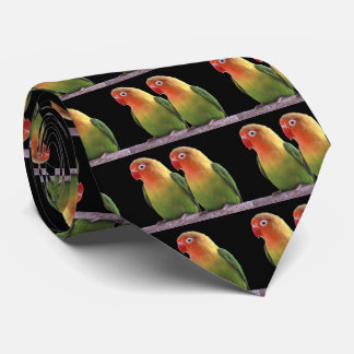 """Fischer's Lovebird"" Tie"