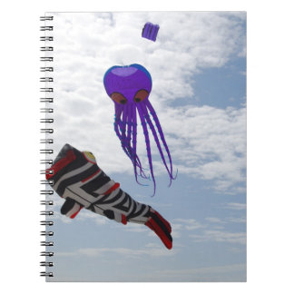 Fish and Octopus Kites Notebook